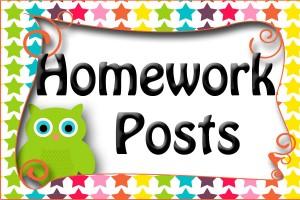 Amy homework button