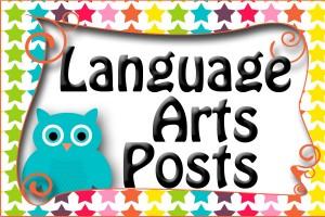 Amy language arts button