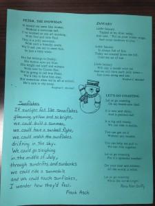 January Poems