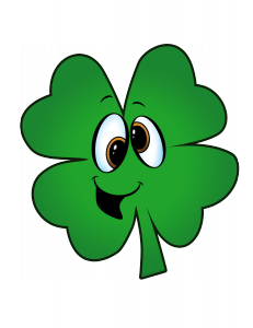 Green Shamrock Loony face The Doodle Oven