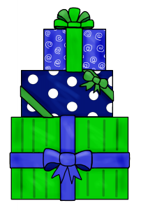blue green packages
