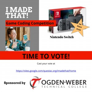 I MADE THAT GAME CODING COMPETITION voting ad